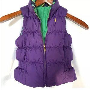 Reversible POLO RALPH LAUREN vest
